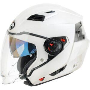 Airoh EX12 Motorrad Helm Vorstands, Größe : 56 cm, Weiß 1/1
